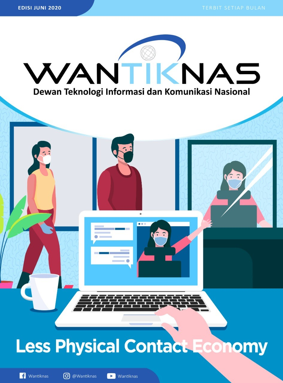 http://www.wantiknas.go.id/Less Physical Contact Economy Edisi 06