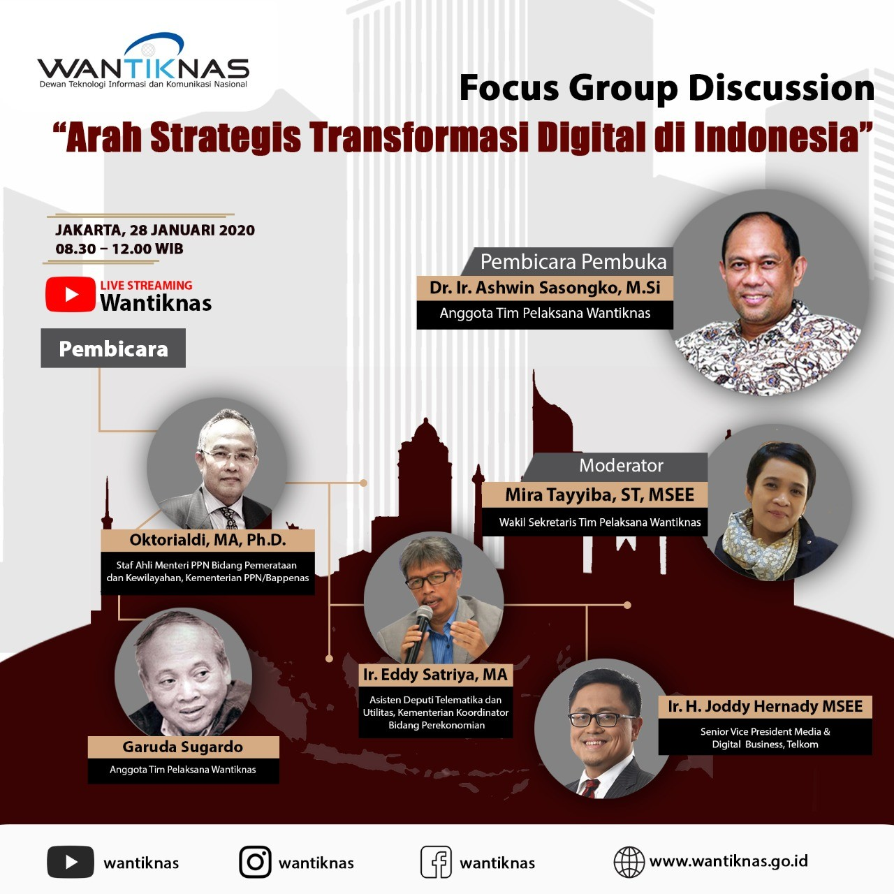 Focus Group Discussion (FGD) Arah Strategis Transformasi Digital di Indonesia