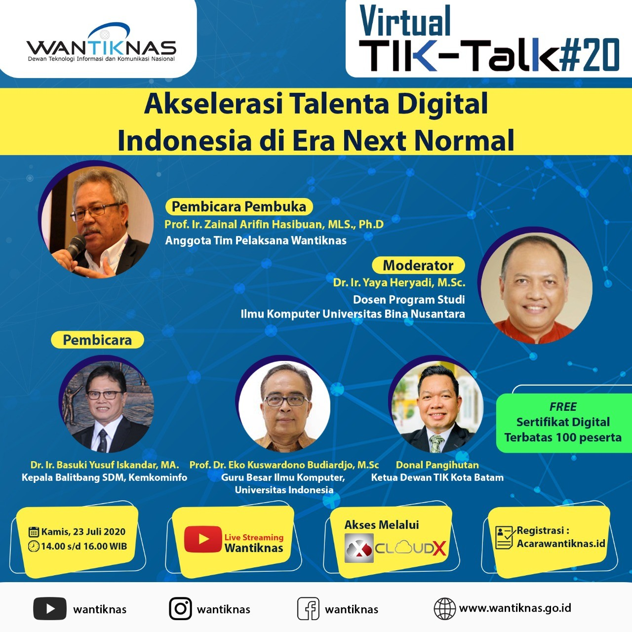 Akselerasi Talenta Digital Indonesia di Era Next Normal