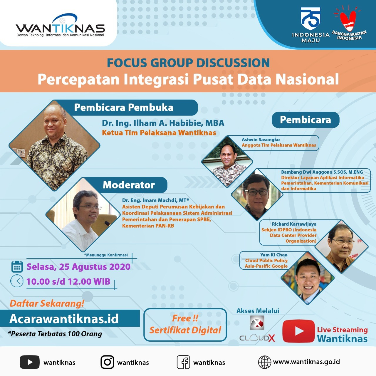 Percepatan Integrasi Pusat Data Nasional