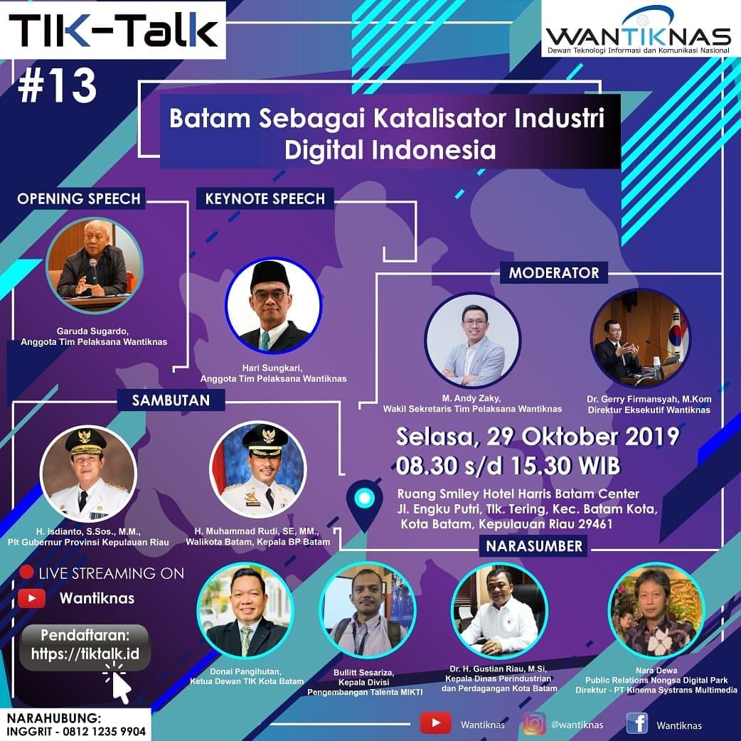 Batam Sebagai Katalisator Industri Digital Indonesia