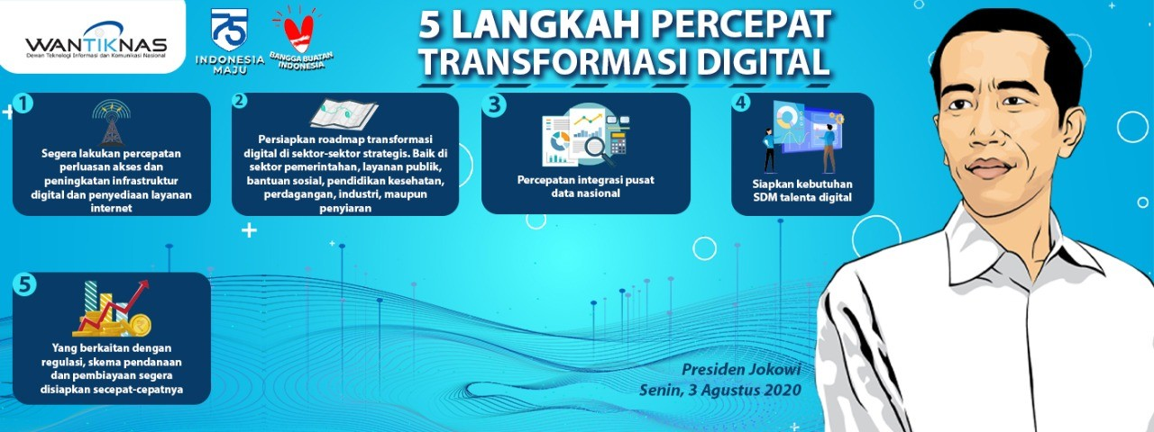 5 Langkah Percepat Transformasi Digital