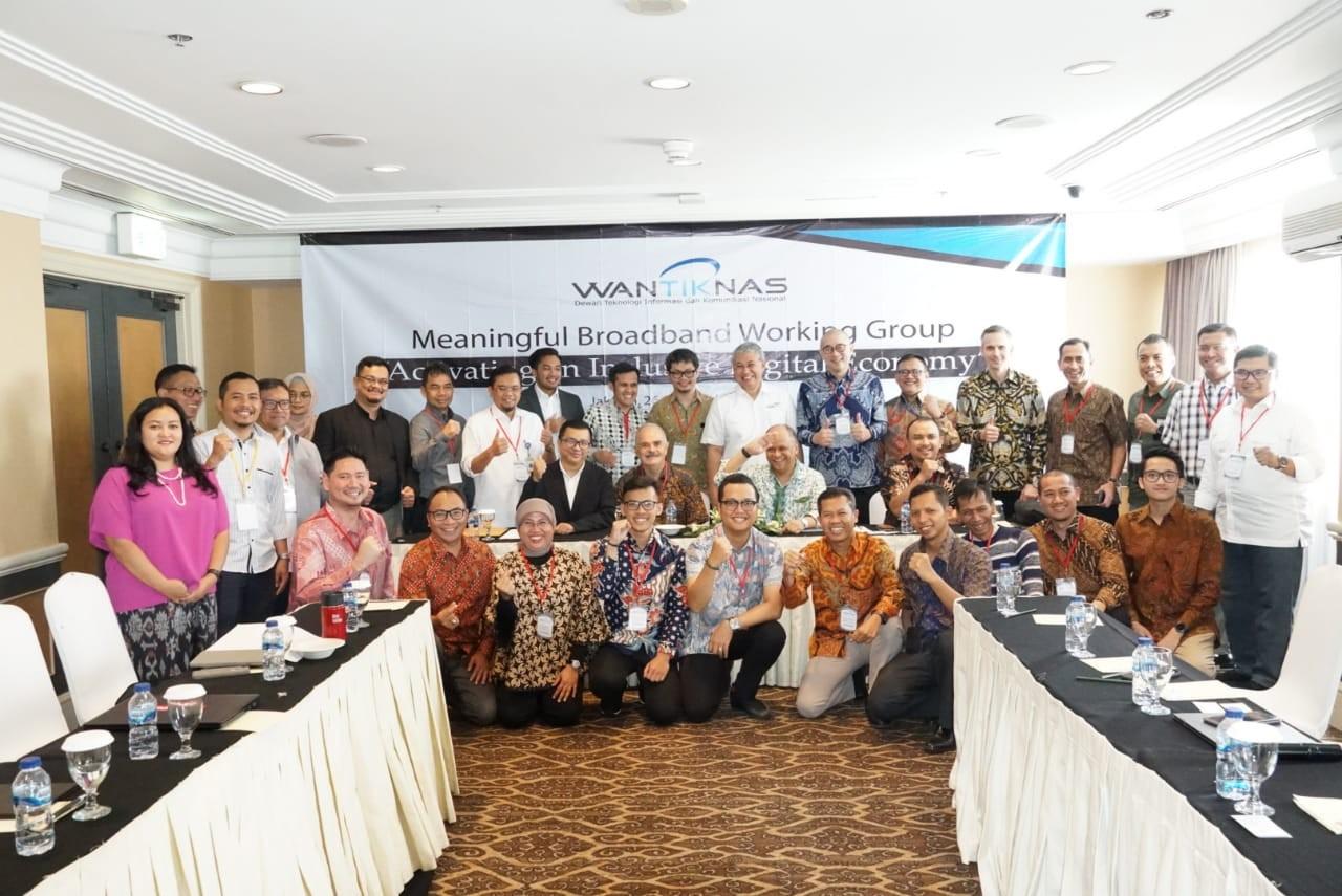 Peluncuran Meaningful Broadband Working Group untuk Mengakselerasi Pembangunan Area 3T
